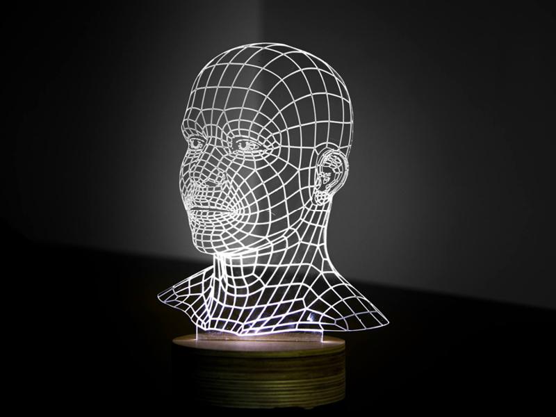 Acrylic Head Project 1-1