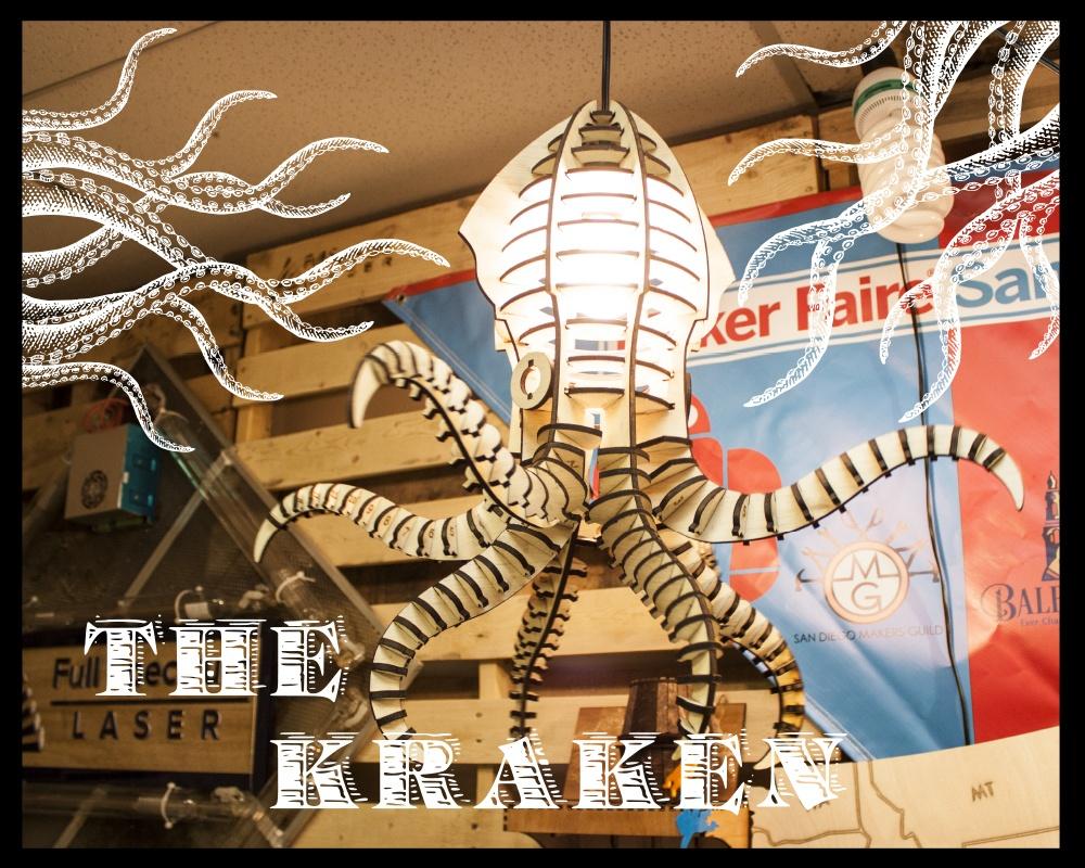 The Kraken Hero lasercut squid octopus light fixture.jpg