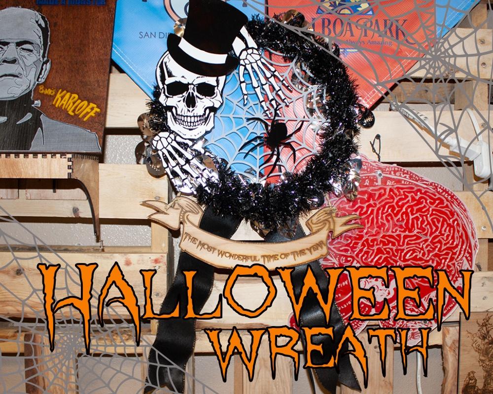 Halloween door wreath laser cut skeleton.jpg