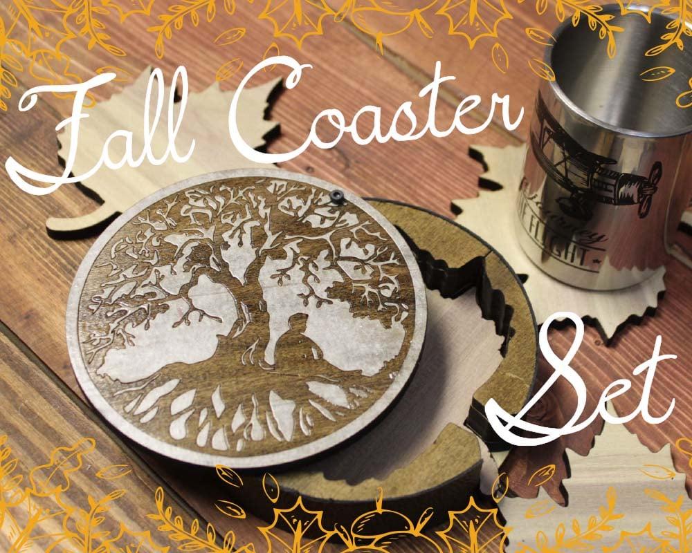 Fall Leaf coaster set laser cut.jpg