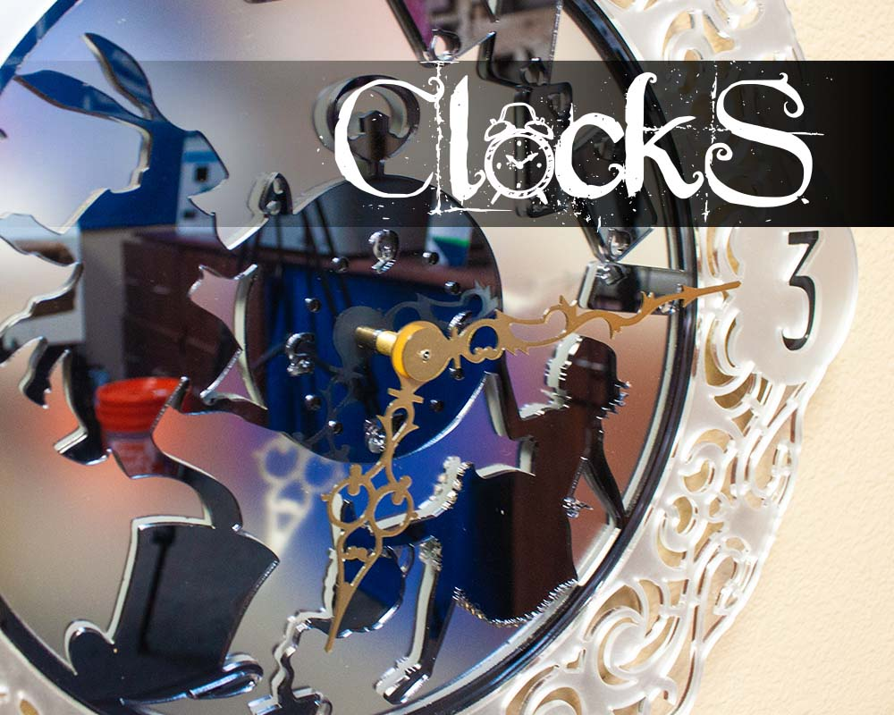 free laser cut project file clock dowload .jpg