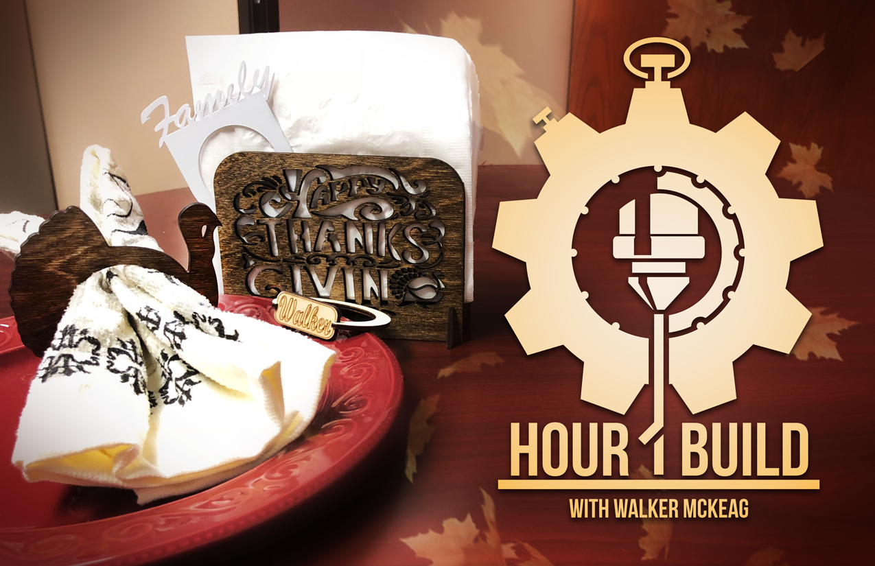 "Join Us for ""One Hour Builds with Walker"""
