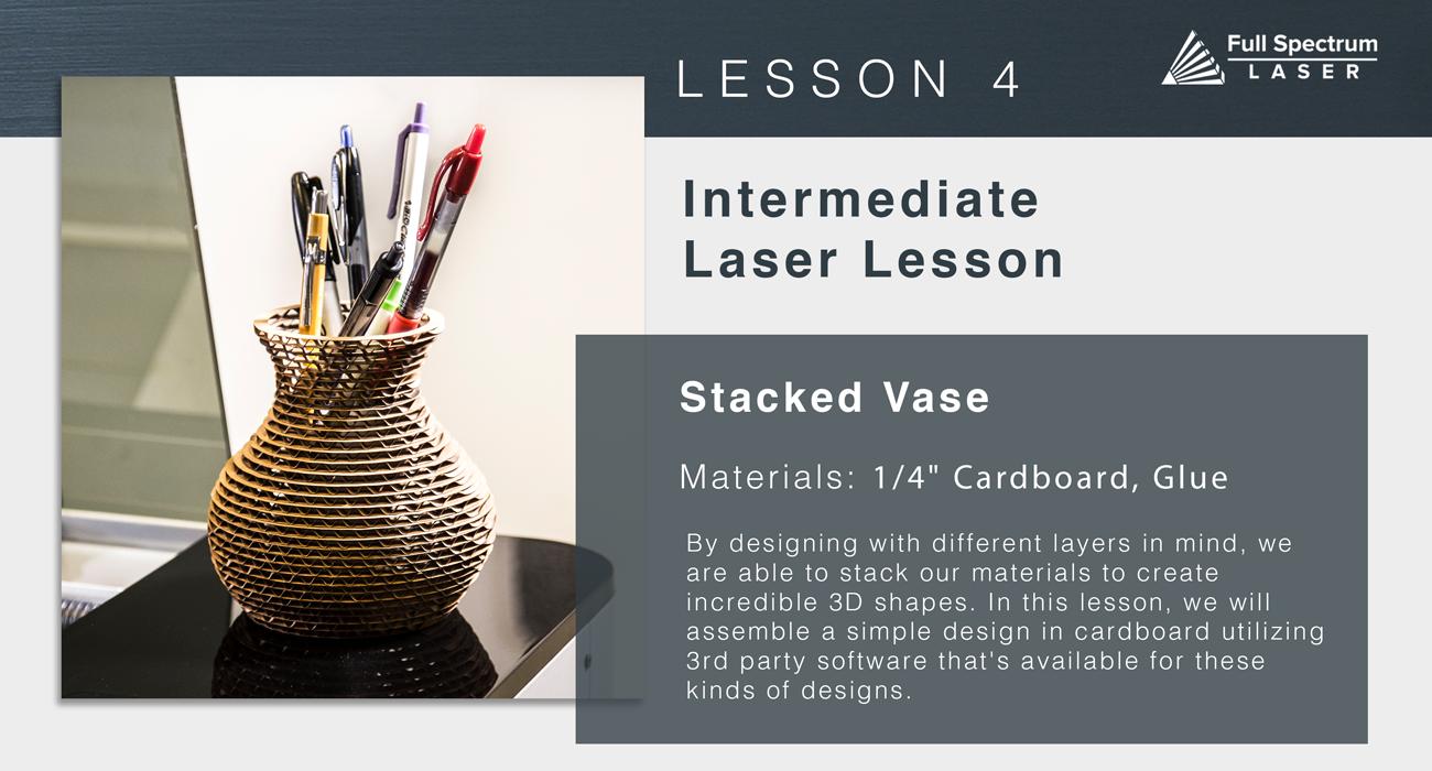 Lesson 4 Stacked Vase