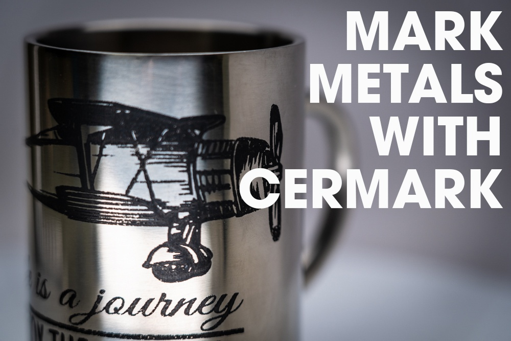 Mark and Engrave Metals and More with Cermark by Johnson Plastics
