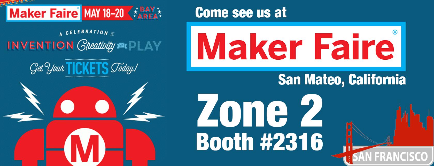 Laser Talk Guys Head To Maker Faire, Bay Area
