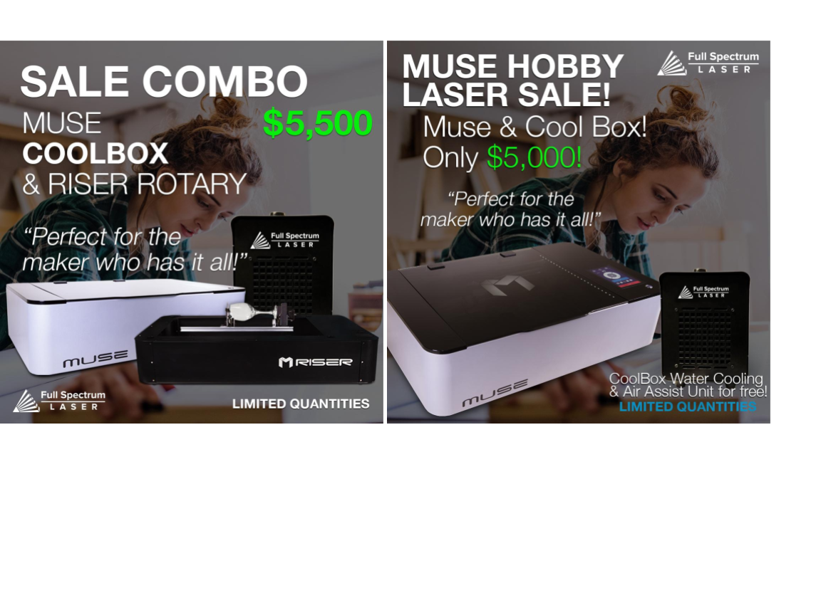 Exclusive, Limited Time Muse Deals