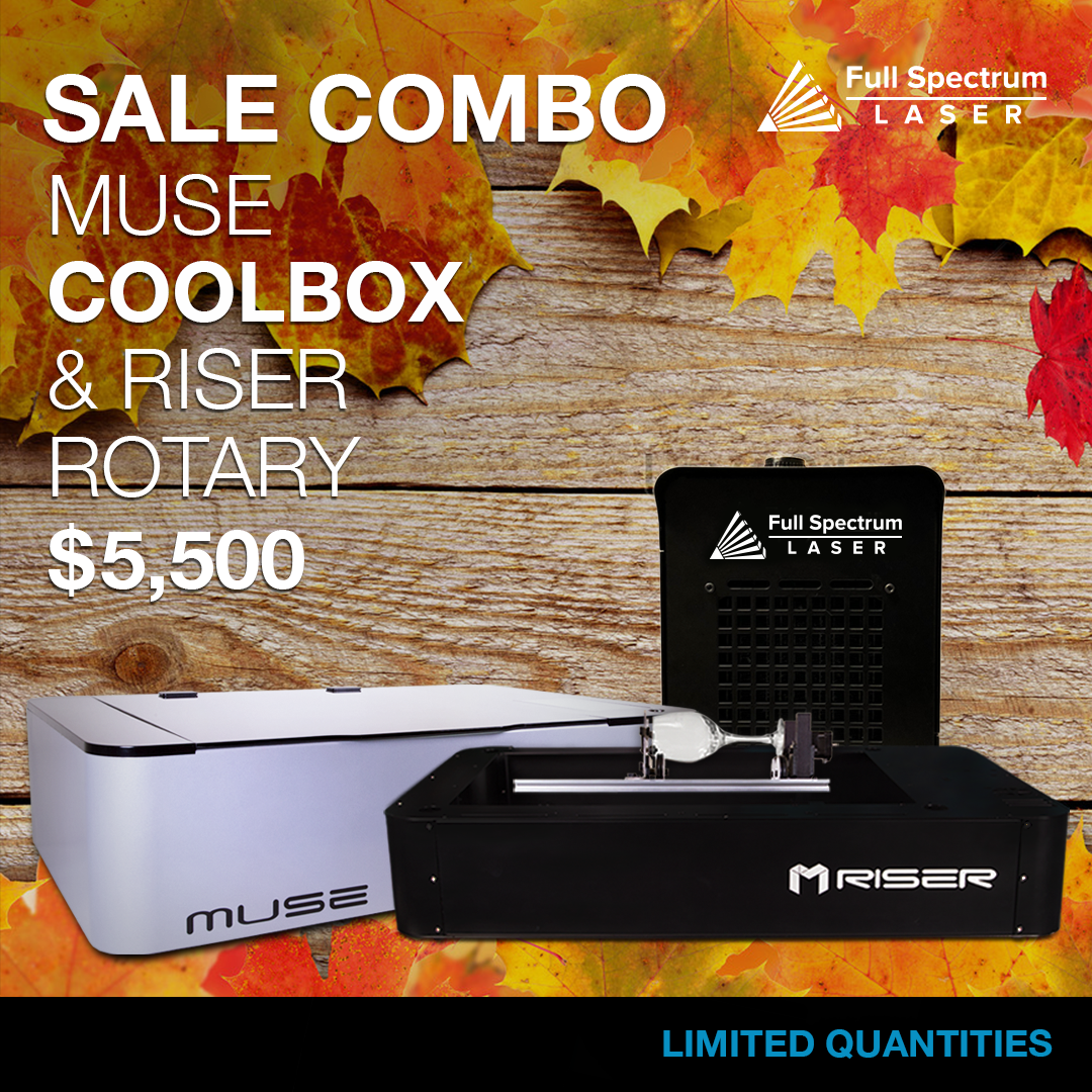 Fall 2018 Muse Laser Cutter Combo Sale On Now