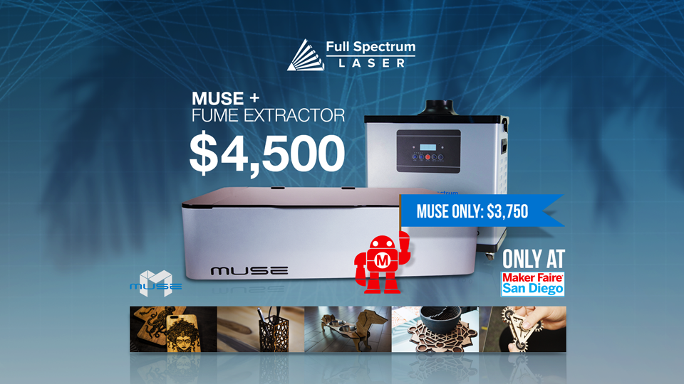 Muse comes to Maker Faire San Diego, October 7th - 8th